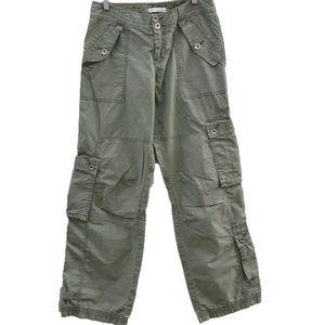 Abercrombie Pants, Cargo green Size 0 EUC
